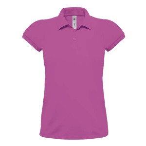Polo femme coton 230 - BC441 - Very berry