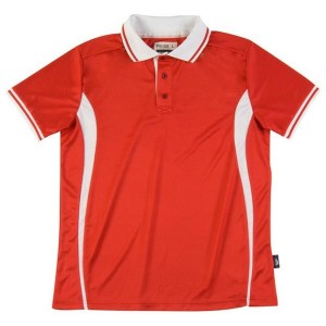 Sport polo homme - PK105 - Rouge