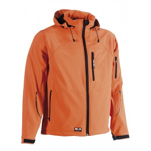 Vest Soft Shell à capuche - HK150 - Orange